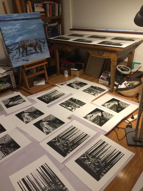 drying prints
